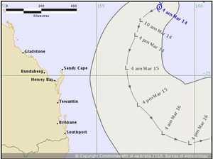 Cyclone swell hits the Tweed Coast