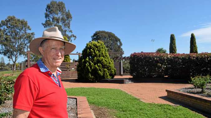 GAME ON: John Simpson's dream of a traffic-stopping monument honouring the region's equine history is about to come to fruition.