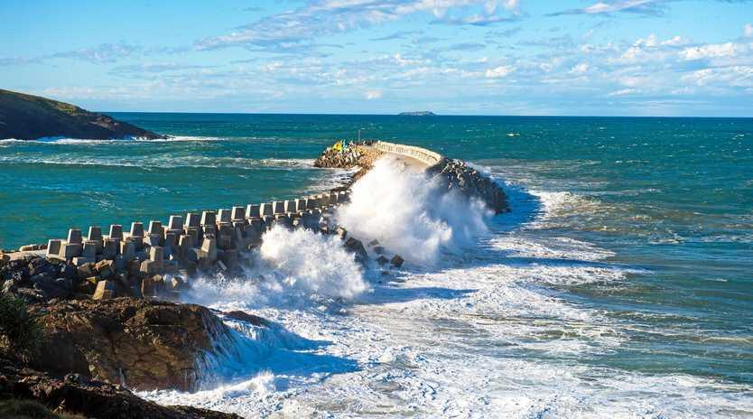 HAZARDOUS SURF: The Bureau of Meteorology issued hazardous surf and marine wind warnings for the Coffs Coast.