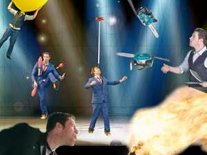 Stuntman brings circus tricks and comedy to Noosa show