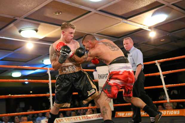 SIGHTS SET HIGH: Stanthorpe boxing champion Christopher Brackin is ranked 15th in Australia