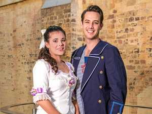 NOW SHOWING: Sophie Salvesani and Alex Woodward as Mabel and Frederic will be performing in the Pirates of Penzance in Toowomba.