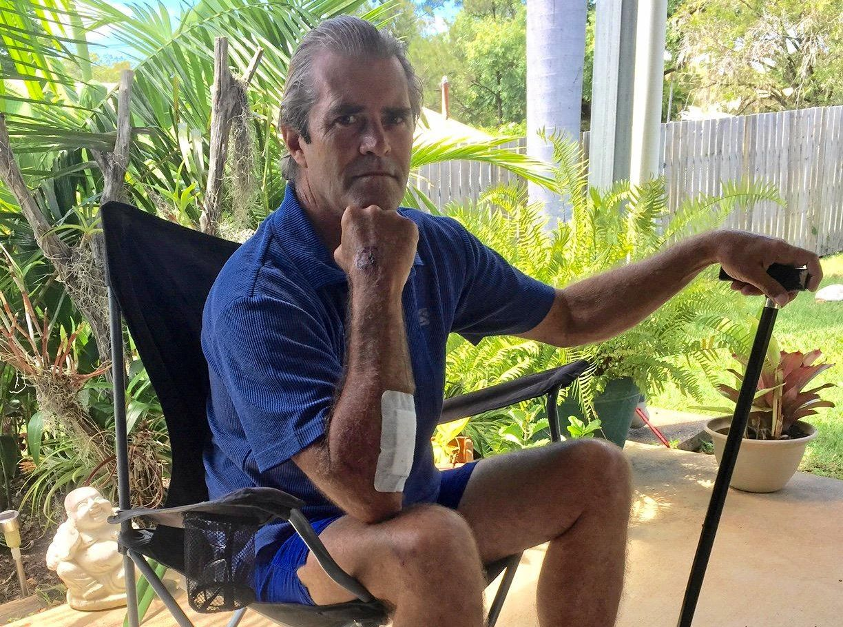 Francis Bowen is unhappy with his treatment at Gladstone Base Hospital