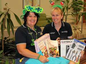 Tombola turns green for St Patrick's Day