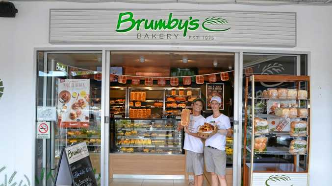 GOOD BREAD:Retail Manager Lisa Taylor and Retail Assistant Nikki Rangeley at the Bumby's Whitsunday Shopping Centre store.