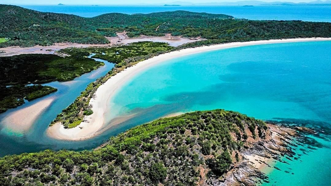 ACTION STATIONS: Work has started on Great Keppel Island towards the promised $25 million revitalisation project.
