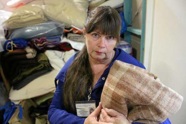 Deb Lightfoot-De Hamer is concerned for Stanthorpe's homeless.