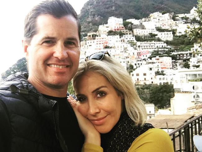 Ryan Phelan and ex-girlfriend Samantha X