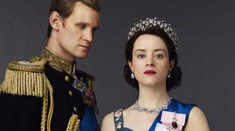 Matt Smith as Prince Philip and Claire Foy as Queen Elizabeth II in Netflix drama series, The Crown. Picture: Supplied/Netflix