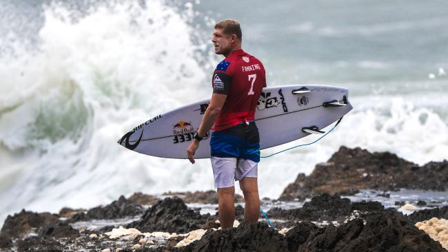Mick Fanning has looked good so far at Snapper Rocks.