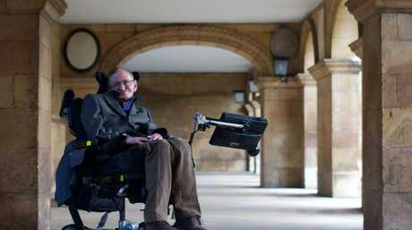 Britain's Professor Stephen Hawking has died aged 76. Picture: Andrew Cowie