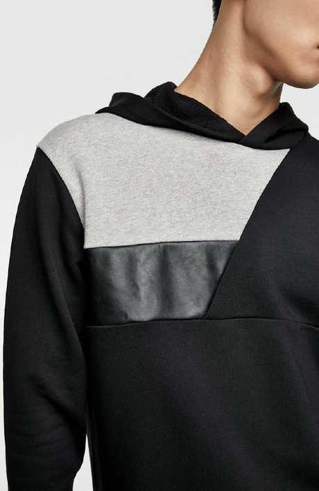 Contrasting hoodie, $69.95.