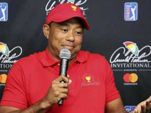 Tiger battles Presidents Cup conundrum