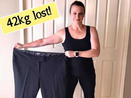 Tanya has tracked her weight-loss journey on Instagram.