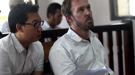 Prosecutors in Bali have demanded that Joshua Baker be jailed for one year. Picture: Lukman S Bintoro