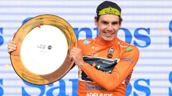 Daryl Impey won this year's Tour Down Under.