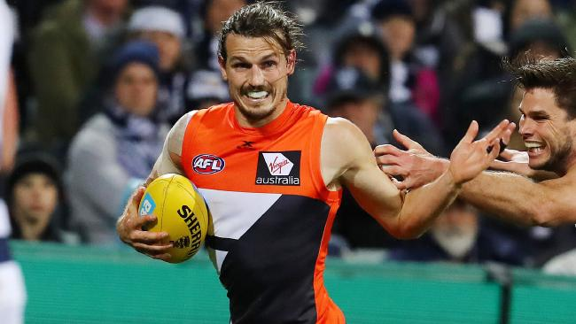 Phil Davis has re-signed with the Giants. Picture: Michael Klein