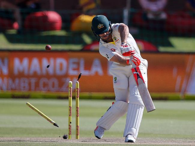 Rabada bowled Mitch Marsh with an absolute peach in the second Test.