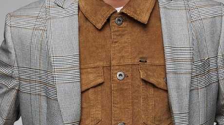 Corduroy jacket, $89.95.
