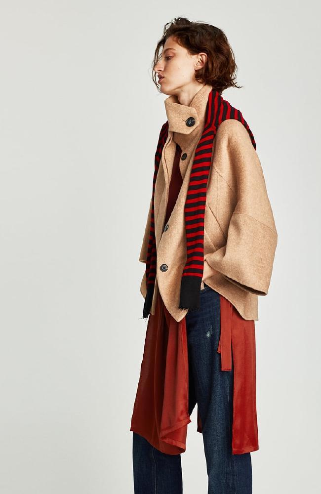 Short cape, $219.