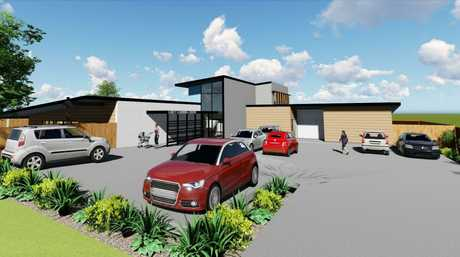Concept art for proposed childcare centre for Centenary Heights approved by the Toowoomba Regional Council.
