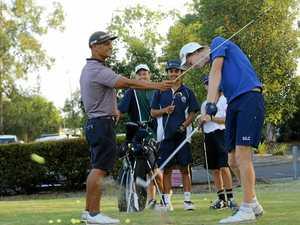 Jimmy is king of golfing kids