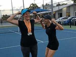 Golden run for tennis ace