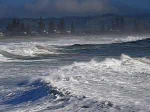PHOTOS: Dangerous surf smashes North Coast beaches