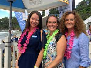 Beach party launches surfing festival