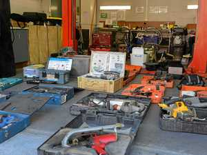 Stolen tools worth $30,000 found in Mackay shed