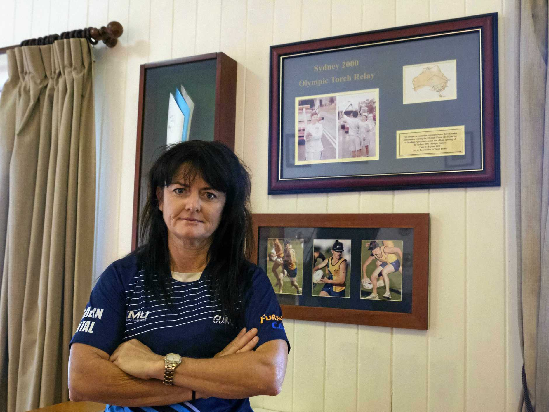 FED UP: Terri Gilbert lodged a complaint with the Bundaberg Touch Association two weeks ago about the specific players and was told her statement was