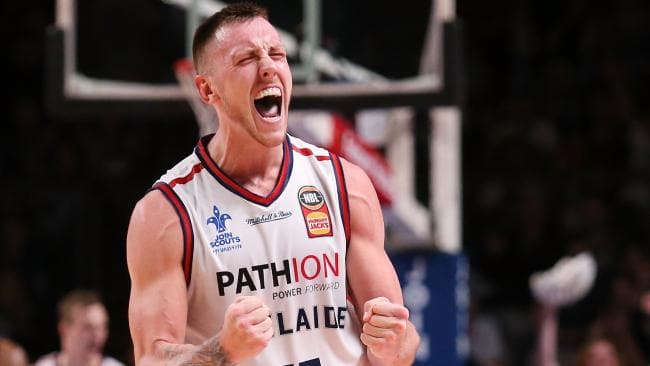 Mitch Creek is the heart and soul of the Adelaide 36ers and has become their most important player. Picture: AAP Image