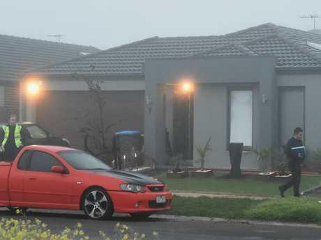 The scene of a home invasion in Tarniet last year. Picture: Nicole Garmston