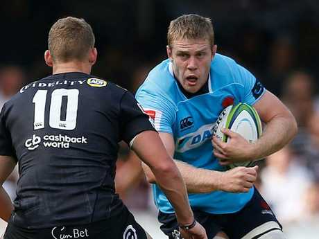 Waratahs lock Tom Staniforth (pictured) is likely to partner Rob Simmons in the second row for the Highlanders clash.