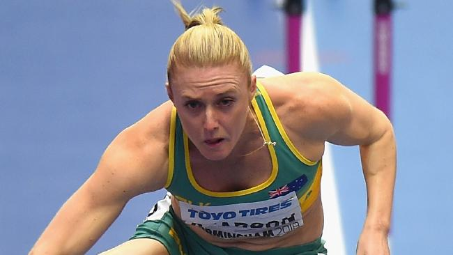 Hurdles queen Sally Pearson will race twice in Brisbane this month.