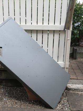 Damage at the rental property