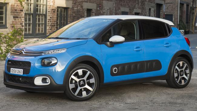 Supplied Cars The 2018 Citroen C3 with built-in 'dash cam'. EMBARGO Tuesday 13  March, 2018. Picture: Supplied.