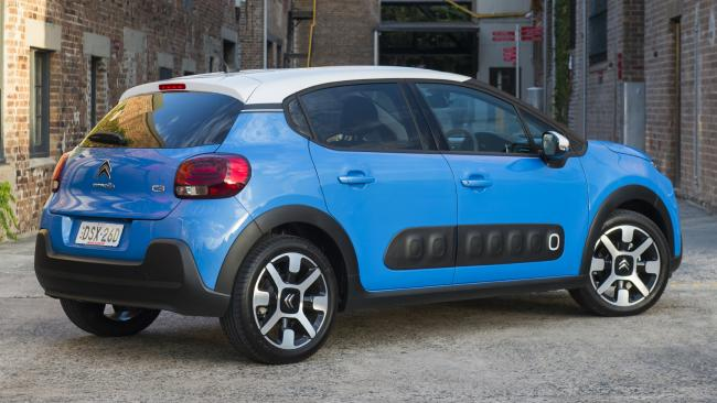 Kitted for the city: C3 gets four safety stars, has bump panels on doors and is at home on smooth roads.
