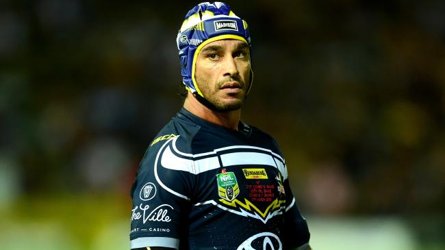 Johnathan Thurston was told he was too skinny to make it. Picture: Evan Morgan