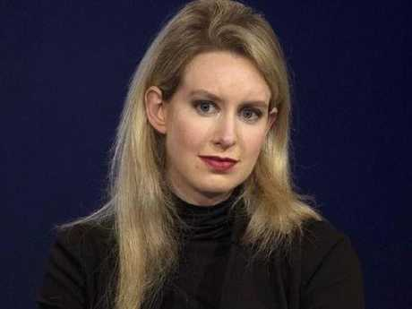 Elizabeth Holmes has surrendered control of Theranos.