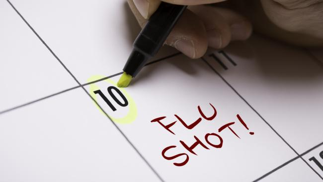 Timing really is everything, even when it comes to getting a flu shot.