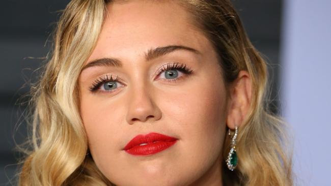 Miley Cyrus. Picture: AFP