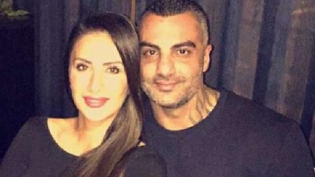 Mick Hawi with his wife Carolina Gonzalez.