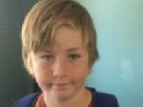 A 10-year-old boy missing from Kingston. Picture: Supplied