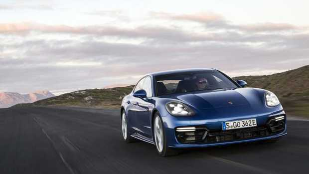 The Porsche Panamera hybrid offers the best of both worlds. Pic: Supplied.