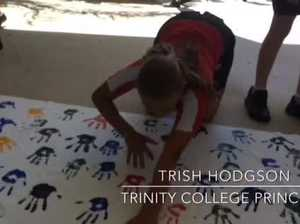 Trinity College takes stand against bullying.