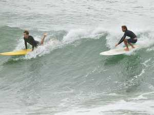 Wave of the day at Noosa Heads at 10am on Friday