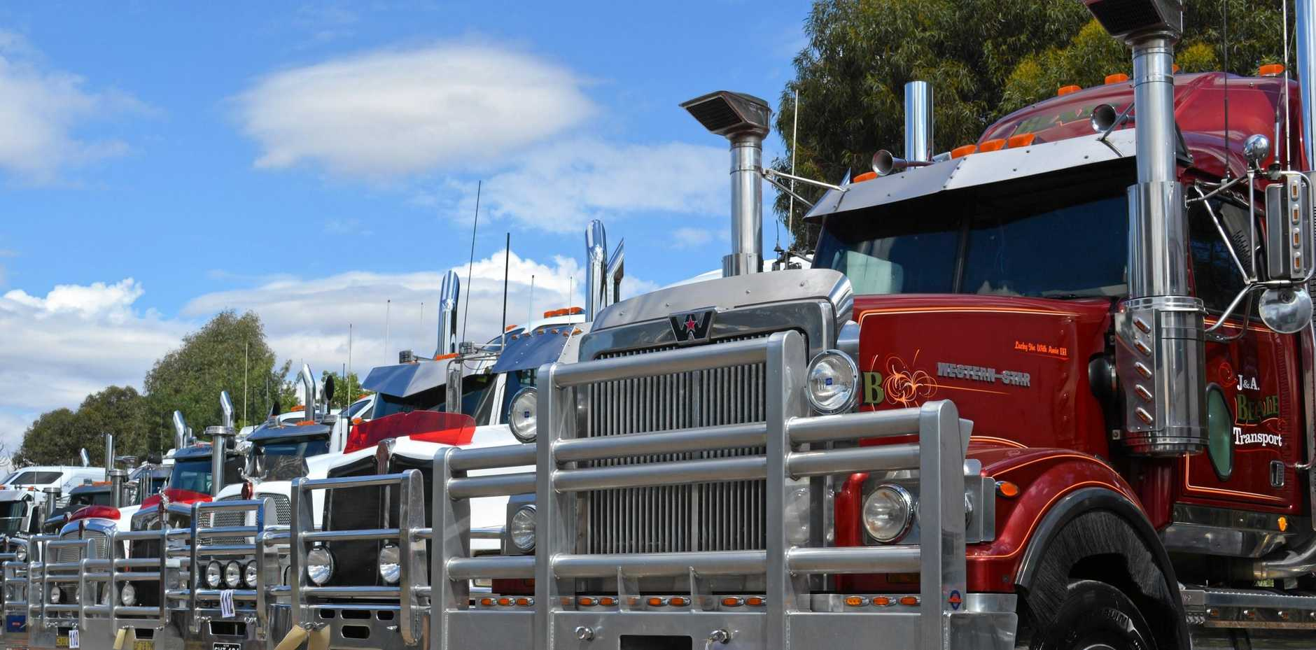 The Oaklands Truck Show always draws a healthy lineup of rigs