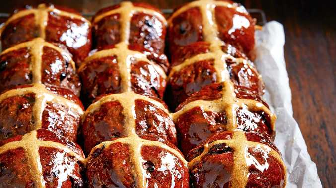 Chocolate Hot Cross Buns Buy