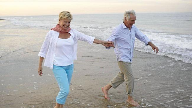 RELAX AND ENJOY: Seniors enjoy the benefits of active ageing.